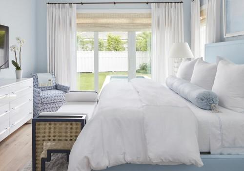 Culorile pastelate in dormitor