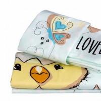Lenjerie de pat copii Bumbac 100% Lovely Mint
