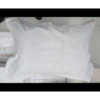 Lenjerie de pat dublu din Microbambus White Jado