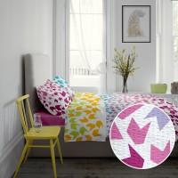Lenjerie de pat dublu din Bumbac 100% Creponat Loving Matisse V1