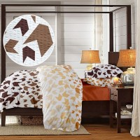 Lenjerie de pat dublu din Bumbac 100% Creponat Loving Matisse V2 - XXL