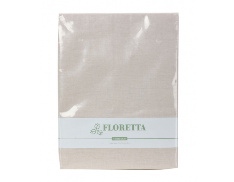 Set fete de perna Floretta Bej 50x70 cm