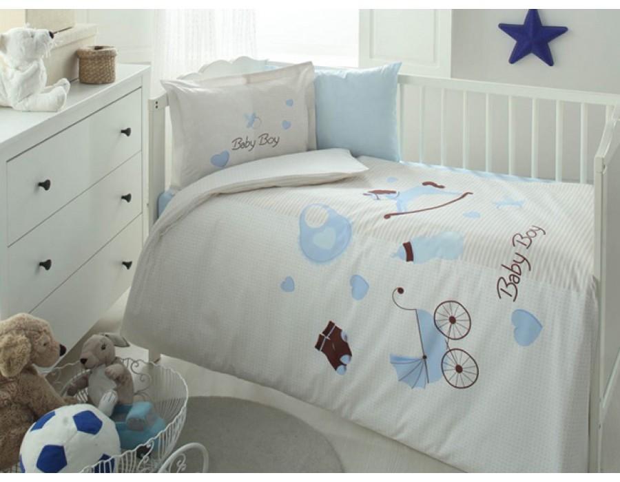 Lenjerie de pat copii Bumbac 100% Baby Boy