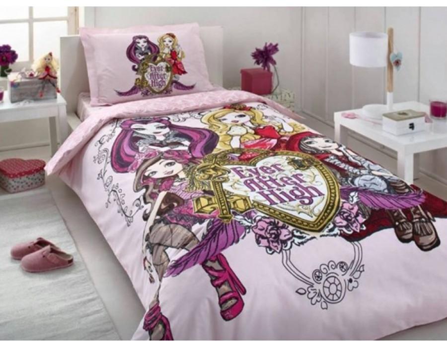 Lenjerie de pat copii Bumbac 100% Ever After High 3