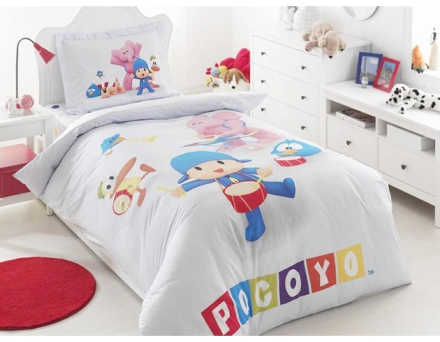 Lenjerie de pat copii Bumbac 100% Pocoyo Group