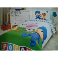 Lenjerie de pat copii Bumbac 100% Pocoyo Sport