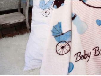Patura Bebe Baby Boy 100x120cm