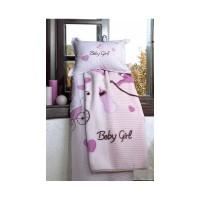 Patura Bebe Baby Girl Poliester 100x120cm