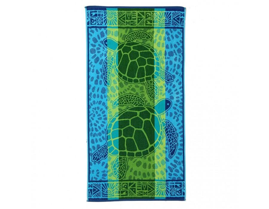 Prosop plaja bumbac Turtles 90x170 cm